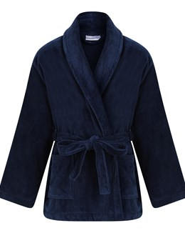 Walker Reid 100% Cotton Velour Bed Jacket