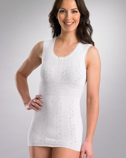 Chilprufe Fancy Knit BUS Combed Cotton Vest