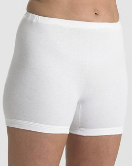 Slenderella Interlock Pantee with Cuff Leg