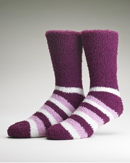 Gaspé Striped Leisure Sock