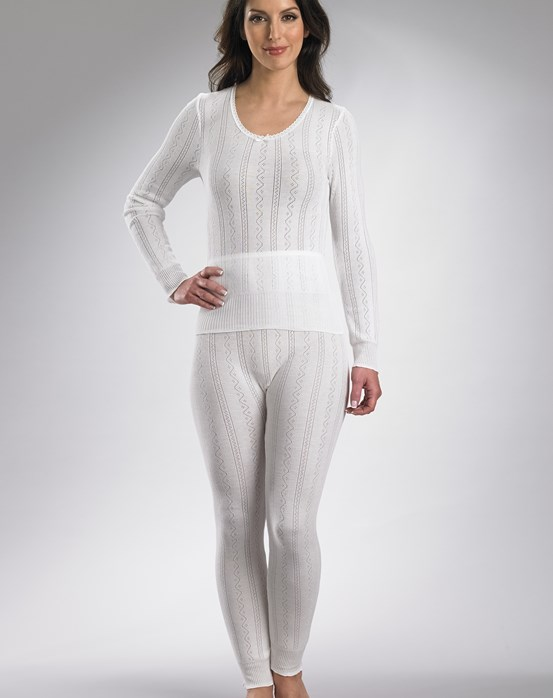 Brettles Fancy Knit Thermal Long Sleeve Cami