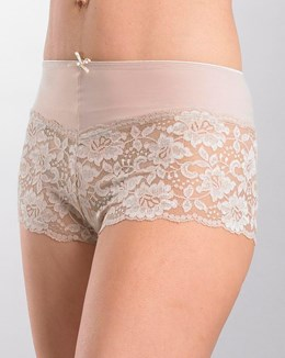 Gaspé Microfibre Boxer with Stretch Lace