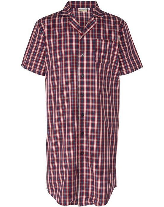 Walker Reid Woven Check Men's Nightshirt