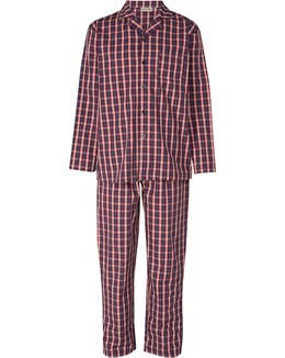Walker Reid Woven Check Men's Tailored Pyjama