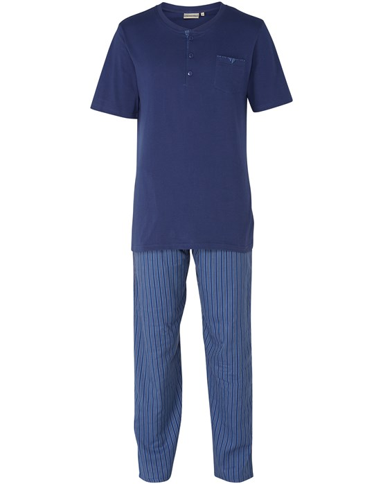 Walker Reid Striped Cotton Pyjama