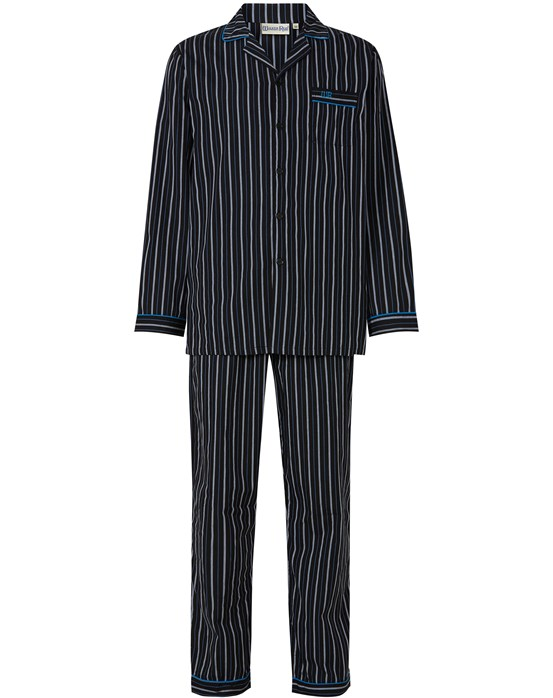 Walker Reid Woven Stripe Tailored Pyjama