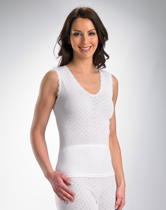 Vedonis Snuggles Brushed Thermal No Sleeve Cami