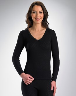 Vedonis Snuggles Brushed Thermal Long Sleeve Cami