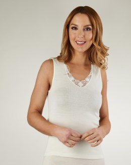 Slenderella Touch of Silk No Sleeve Cami