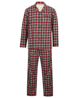 Walker Reid Check Flannel Tailored Pyjama