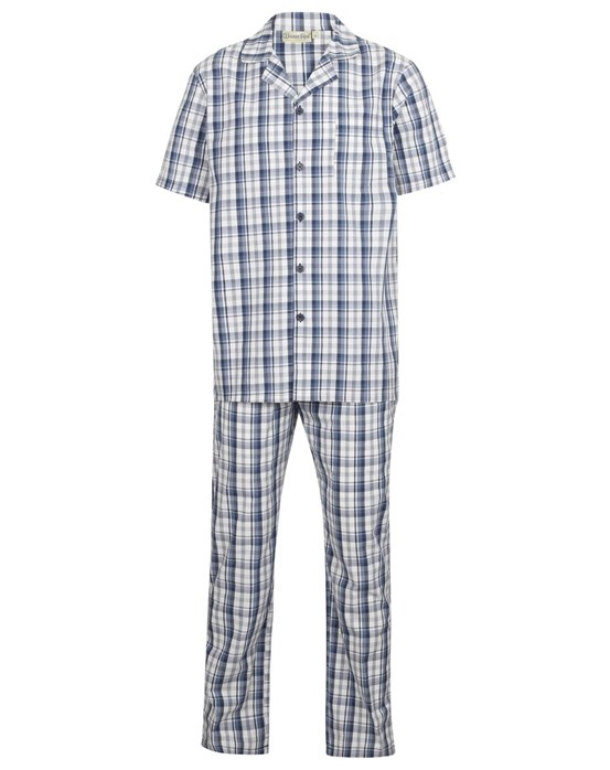 Walker Reid Classic Check 100% Cotton Tailored Pyjama