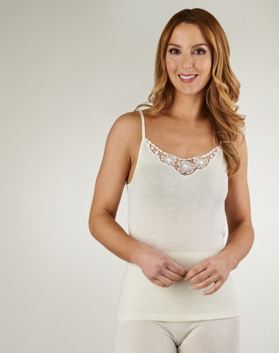 Slenderella Natural Luxury Strap Cami