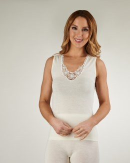 Slenderella Natural Luxury No Sleeve Cami