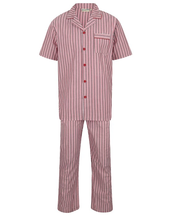Walker Reid 100% Cotton Striped Tailored Pyjama