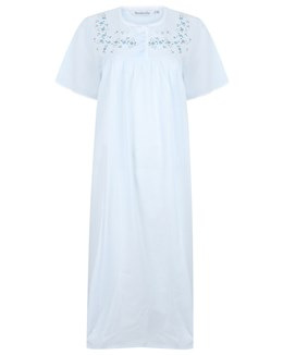 Slenderella Embroidered Yoke Nightdress