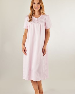 Slenderella Brushed Back Satin Nightdress