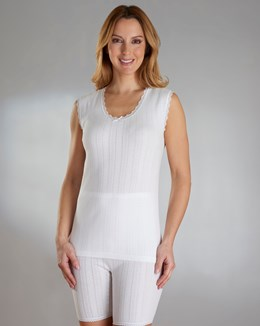 Vedonis Seamfree 100% Cotton Sleeveless Top